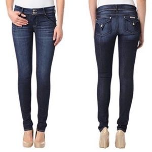 Hudson Collin Flap Skinny Jeans Blue